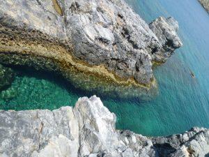 エーゲ海の美しい海