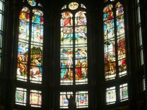 オランダ、アムステルダムの教会内