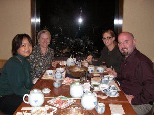 日本でボランティアを通じて知り合ったご近所に住むアメリカ人家族