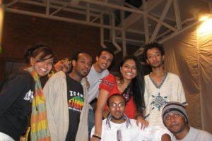 エチオピアからの留学生達