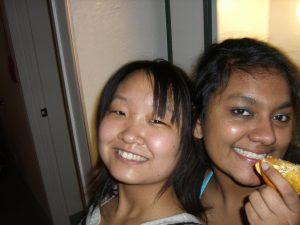 週末はいつも留学生と一緒に過ごす