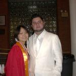 卒業式でパチリ